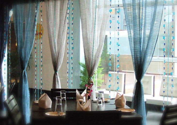 варианты подвязок для штор