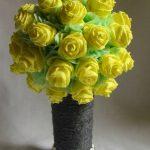 розы из бумажных салфеток идеи декор