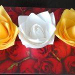 розы из бумажных салфеток идеи дизайн