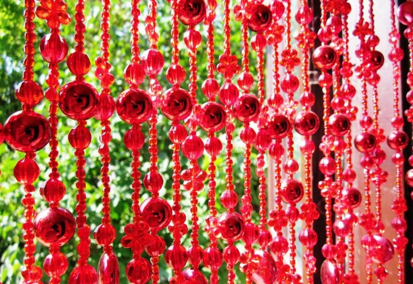 шторы из бусин фото декора