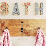 вешалка для полотенец в ванную фото