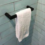 вешалка для полотенец в ванную фото дизайна