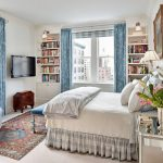 занавески в спальню длина дизайн