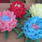цветок лотоса из салфеток дизайн