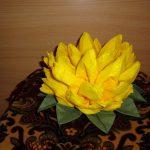 цветок лотоса из салфеток фото дизайн