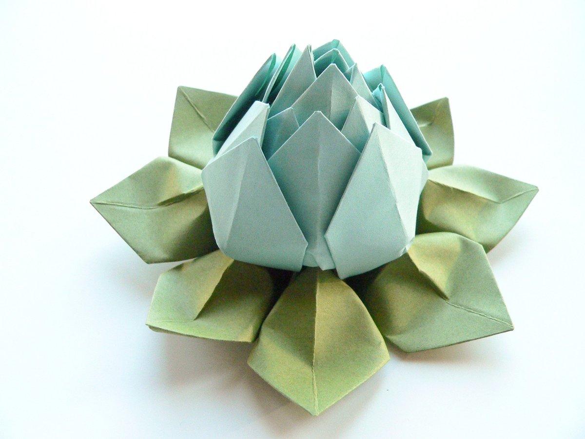 лотос из салфеток идеи декора