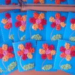 цветы из бумажных салфеток дизайн