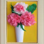 цветы из бумажных салфеток дизайн идеи