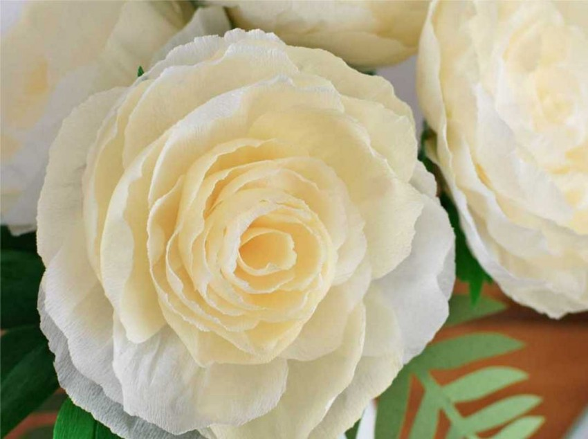 цветы из бумажных салфеток своими руками фото дизайна