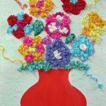 цветы из салфеток дизайн фото