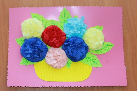 цветы из бумажных салфеток фото дизайна
