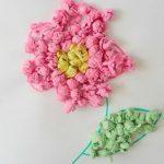 цветы из салфеток фото оформления