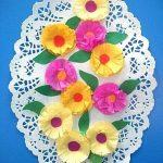 цветы из салфеток идеи вариантов