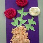 цветы из салфеток оформление идеи