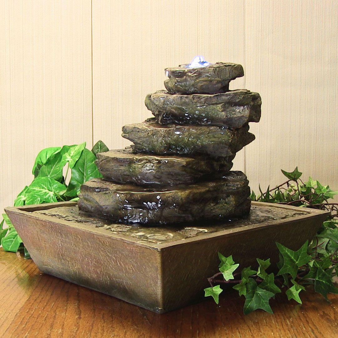 декоративный фонтан для дома фото