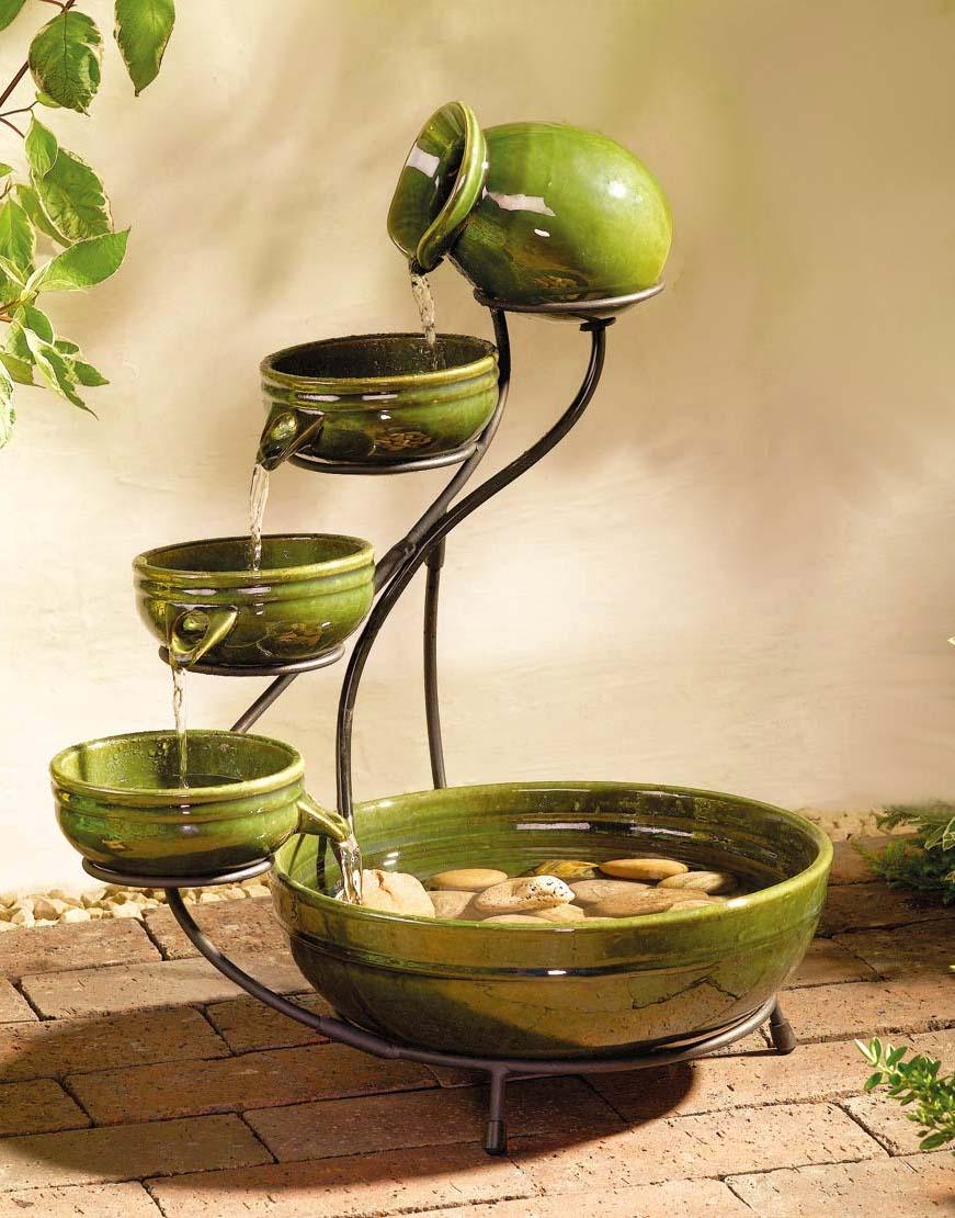 декоративный фонтан для дома