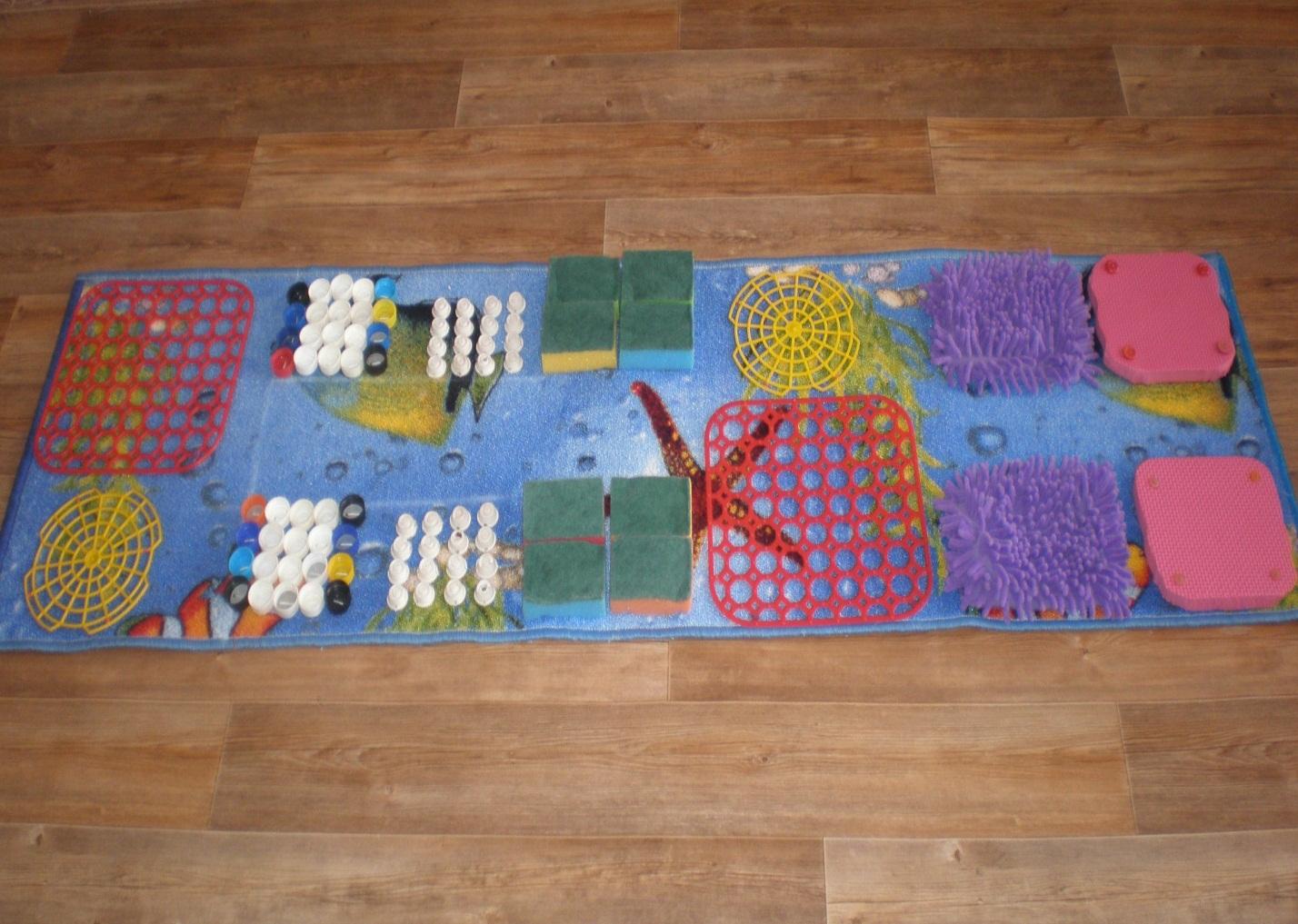 детский массажный коврик идеи
