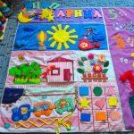 детский массажный коврик для ног фото оформления