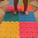 детский массажный коврик для ног идеи оформления