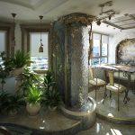 домашний фонтан интерьер фото
