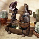 фонтан в квартире декор