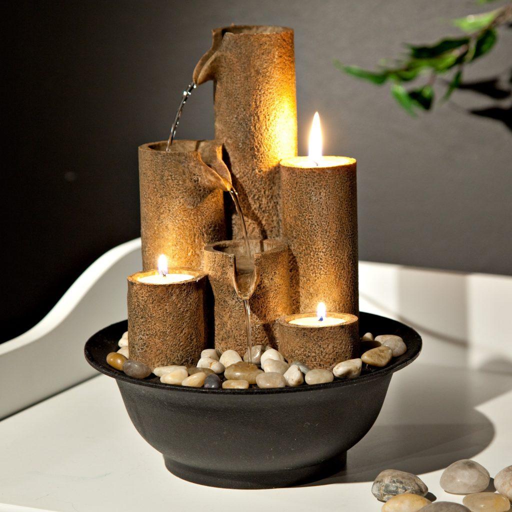 домашний фонтан идеи декора