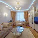 Оформление интерьера гостиной в классическом стиле
