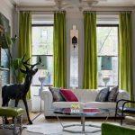 Скульптура оленя в интерьере гостиной