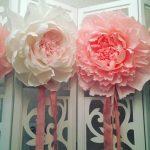 гвоздики из салфеток своими руками фото декор