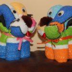 игрушки из полотенца фото дизайна