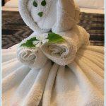 игрушки из полотенца идеи декора