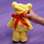 игрушки из полотенца медведь