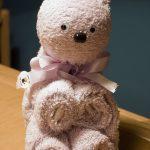игрушки из полотенца мишка
