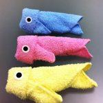 игрушки из полотенца рыбки