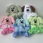 игрушки из полотенца щенки