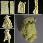 игрушки из полотенца своими руками