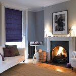 занавески в современном стиле в гостиной