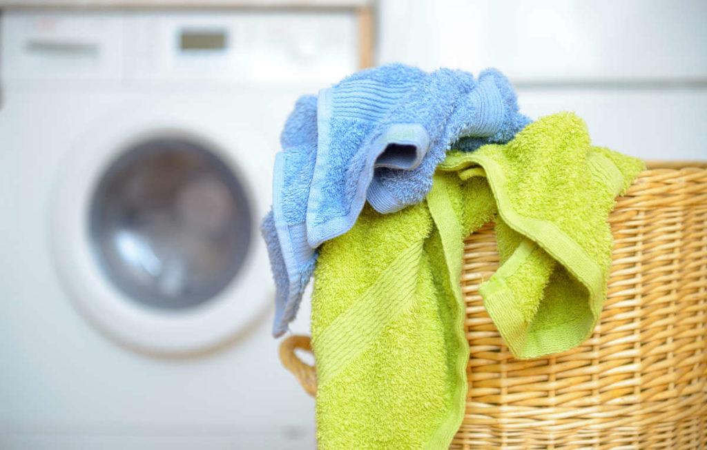 как постирать кухонные полотенца