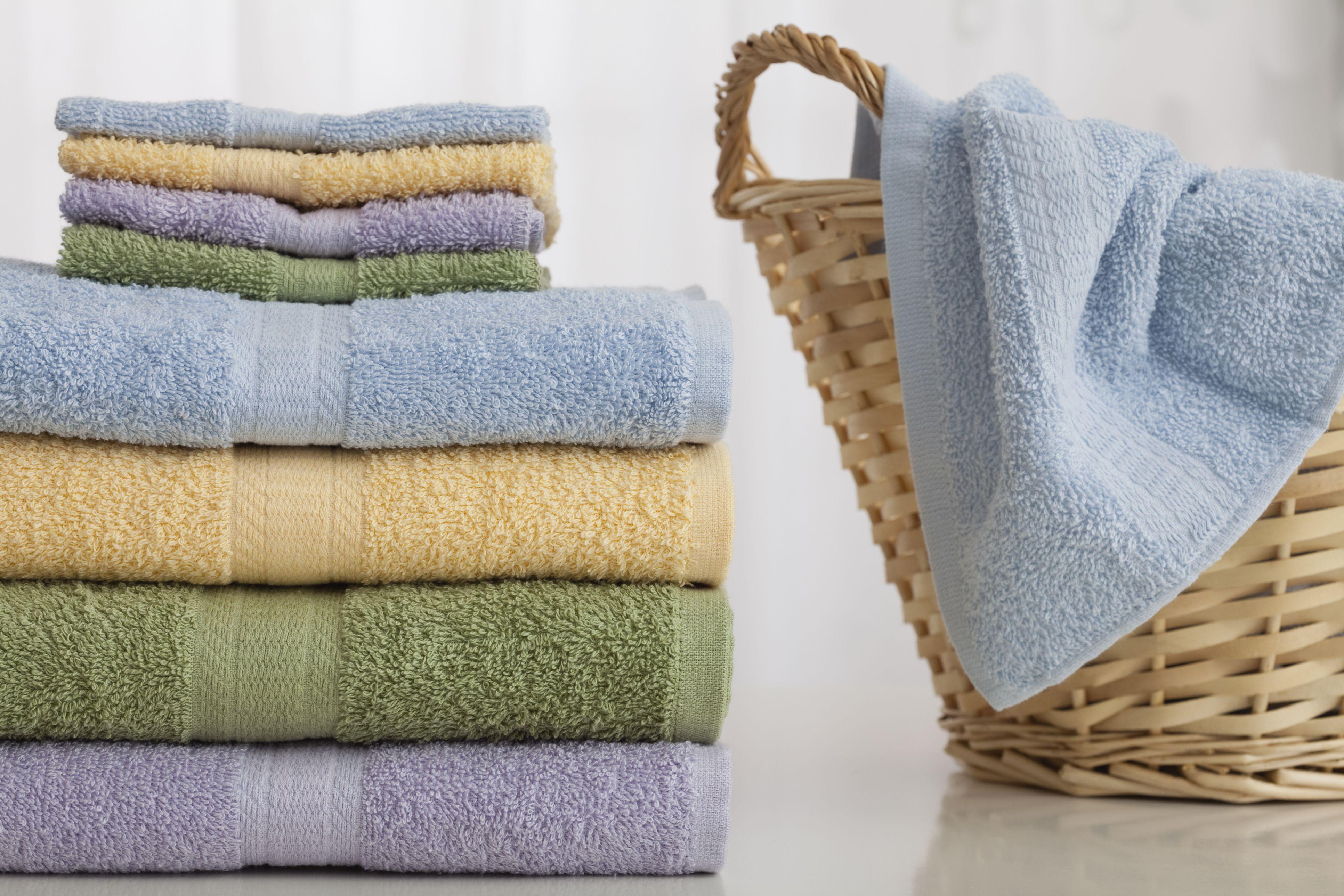 как стирать махровые пушистые полотенца идеи