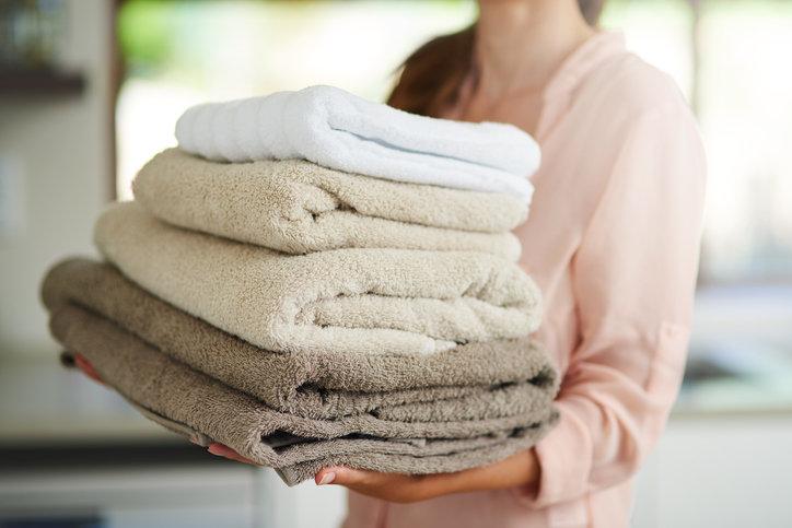 как стирать махровые пушистые полотенца правила