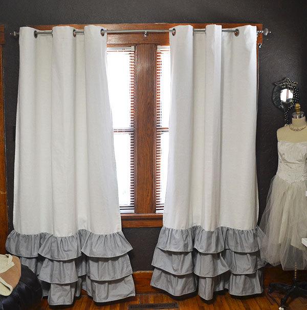 как удлинить шторы варианты фото