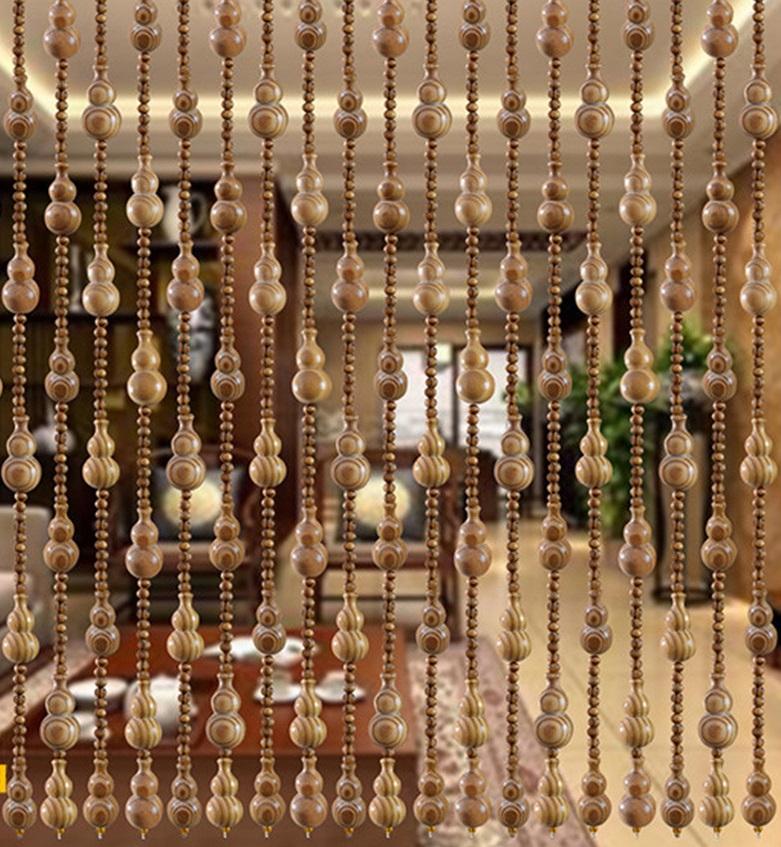 как выбрать деревянные шторы на дверной проём