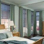 короткие шторы до подоконника в спальню идеи дизайн