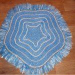 коврик из полиэтилена декор