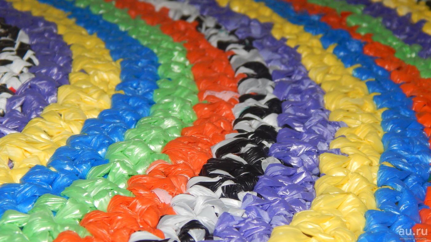 коврики из полиэтиленовых пакетов