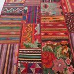 ковры в стиле пэчворк фото интерьер