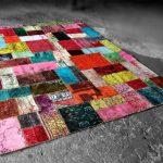 ковры в стиле пэчворк интерьер фото