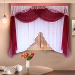 Красивое и интересное оформление кухонного окна