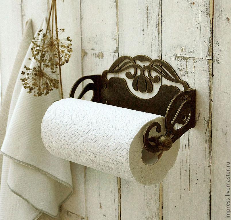красивый держатель для бумажных полотенец