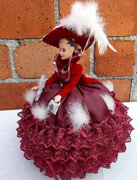 кукла шкатулка варианты оформления